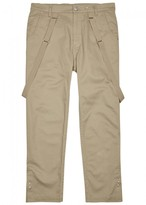 Helmut Lang Lafer Stone Stretch Cotton Trousers