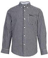 Ben Sherman Gingham Cotton Poplin Collared Shirt