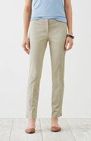 J. Jill Perfect Cotton-Stretch Ankle Pants