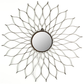 Safavieh Rustic Powder Coated Cairo Wall Mirror