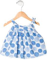 Jacadi Girls' Sleeveless Floral Top