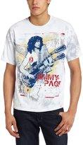 Liquid Blue Men's Jimmy Page Double Your Pleasure T-Shirt, Multi
