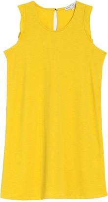 Velvet Torch Ruffled Tank Dress