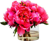 The French Bee 8 Peonies in Cylinder, Faux