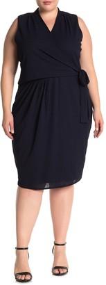Rachel Roy Asymmetric Twist Dress (Plus Size)