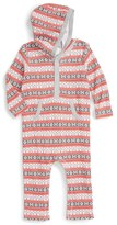 Nordstrom Infant Print Hooded Romper