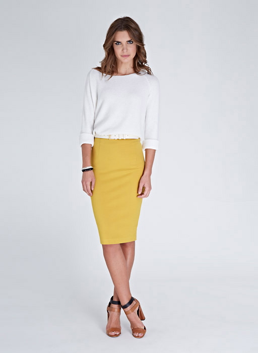 Isabella Oliver The High Waisted Pencil Skirt