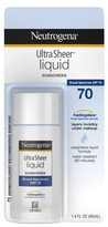 Neutrogena Ultra Sheer® Liquid Daily Sunscreen Broad Spectrum SPF 70 - 1.4 Fl Oz