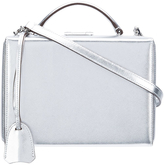 Mark Cross Small Grace Metallic Box Clutch