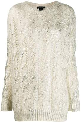 Avant Toi cashmere cable-knit sweater