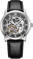 Kenneth Cole New York Men's KC1514 Automatic Skeleton Dial Leather Strap