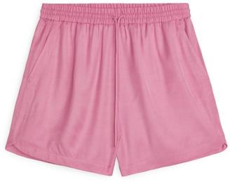 Arket Fluid Twill Shorts