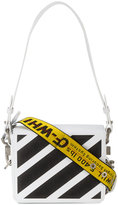 Off-White White warning tape shoulder bag - women - Leather - One Size
