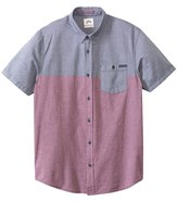 Rusty Men's Rattler Short Sleeve Shirt 8136203