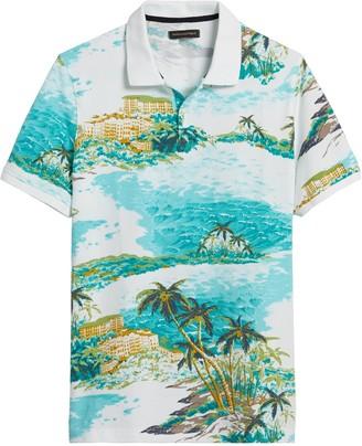 Banana Republic Signature Pique Polo Shirt