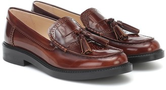 Tod's Tassel leather loafers