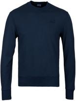 Cp Company Teal Crew Neck Sweatshirt