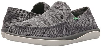Sanuk Vagabond Tripper Mesh (Black) Men's Slip on Shoes