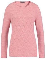 Olsen Textured Cotton Blend Sweater