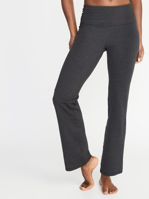 Old Navy High-Waisted Slim Boot-Cut Yoga Pants For Women
