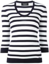 DSQUARED2 nautical striped jumper