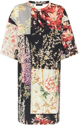 Etro Floral cotton-jersey minidress