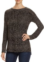 Sanctuary Sierra Marled Cable Knit Sweater