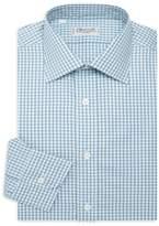 Charvet Contempoary-Fit Track Check Dress Shirt