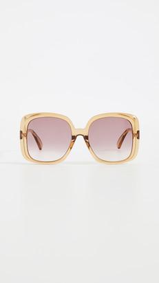 Gucci Pop Web Oversized Square Sunglasses