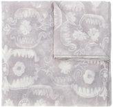 Giorgio Armani floral pattern scarf - women - Cashmere - One Size