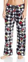 Disney Women's Mickey Mouse Pant