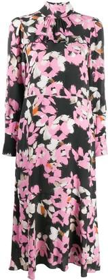 Dorothee Schumacher Floral Graphics-print midi dress