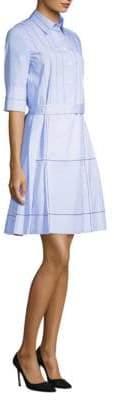 Piazza Sempione Pleated Shirt Dress