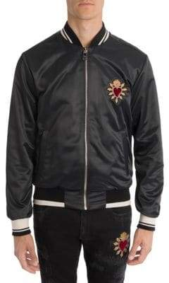 Dolce & Gabbana Heart Bomber Jacket