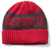 Gap x (RED) merino wool blend intarsia beanie