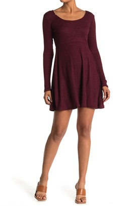 Angie Sweater Knit Skater Dress