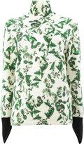 Undercover floral print jumper