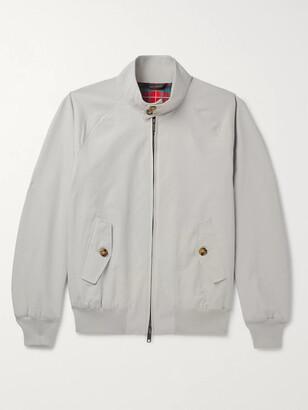 Baracuta G9 Cotton-Blend Harrington Jacket - Men - Gray