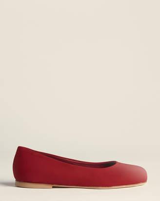 Marni Dark Red Ballet Flats