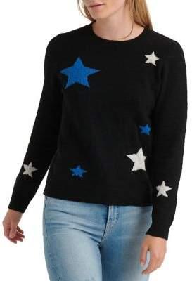 Lucky Brand Star Printed Crewneck Sweater