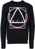 McQ by Alexander McQueen Multi Geo print sweatshirt