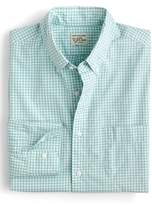 J.Crew J. CREW Slim Fit Stretch Secret Wash Gingham Sport Shirt