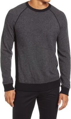Vince Bird's Eye Stitch Wool & Cashmere Sweater