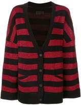 RtA striped cardigan