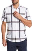 Theory Print Button Shirt