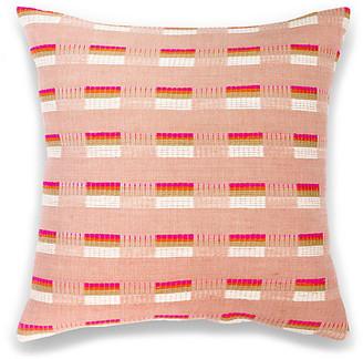 Bole Road Textiles Turmi 18x18 Pillow - Cerise