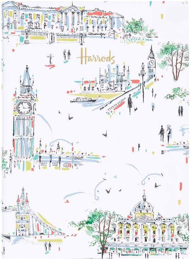 Harrods Rainy Days A5 Notebook