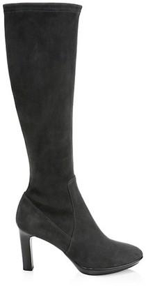Aquatalia Rhumba Knee-High Suede Boots