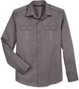 Sean John Men's Dual Pocket Shirt