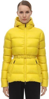 Moncler Rhin Nylon Logo Down Jacket